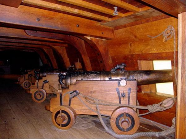 Vasaskeppet - i Cannoni