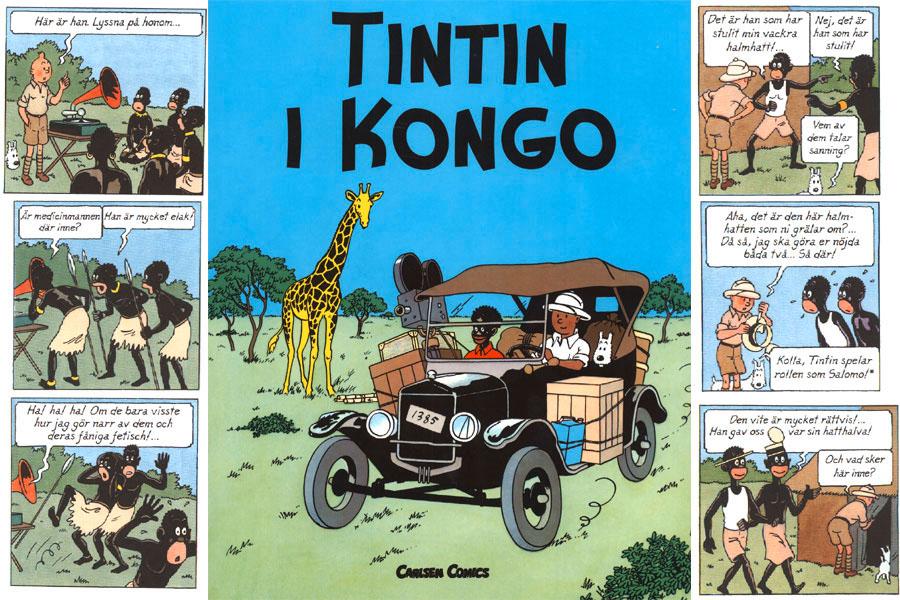 Hergé alias Georges Prosper Remi - Tintin i Kongo 4