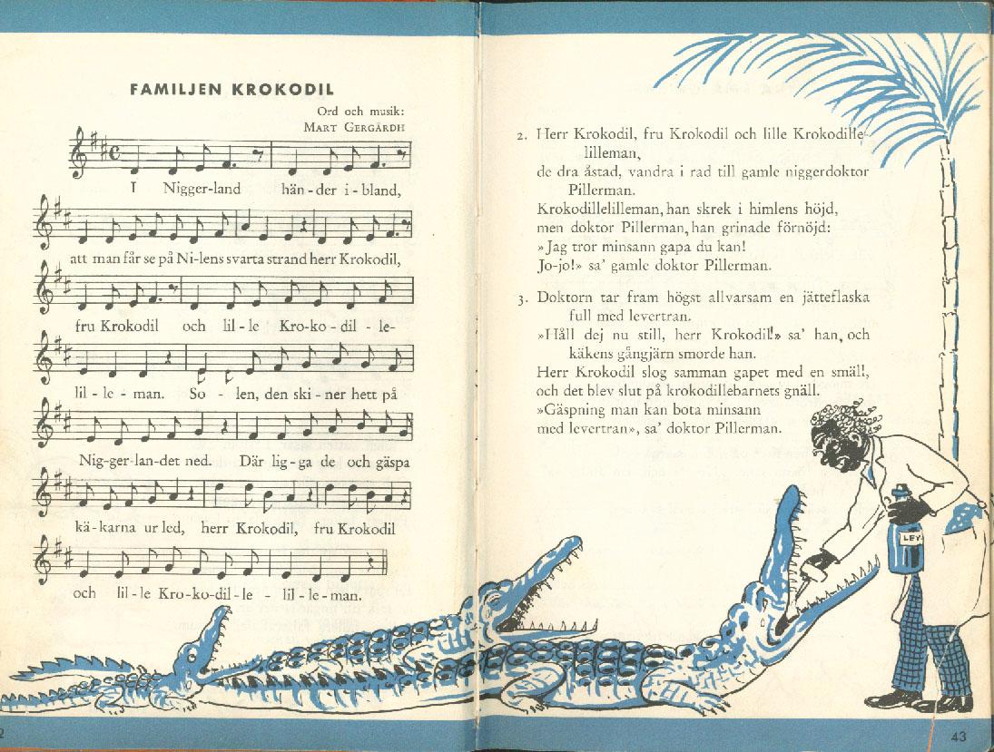 Nu ska vi sjunga - Familjen krokodil