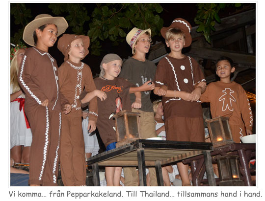 Pepparkaksgubbar i Thailand - LINK
