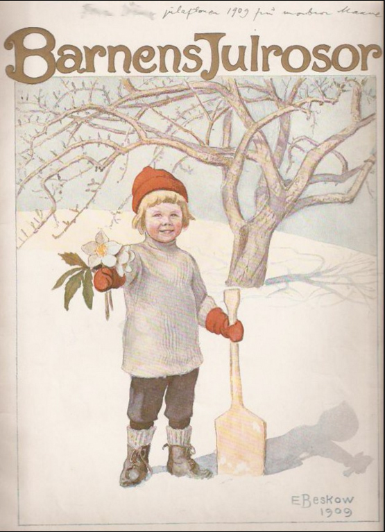 Barnens Julrosor - Elsa Beskow - 1909