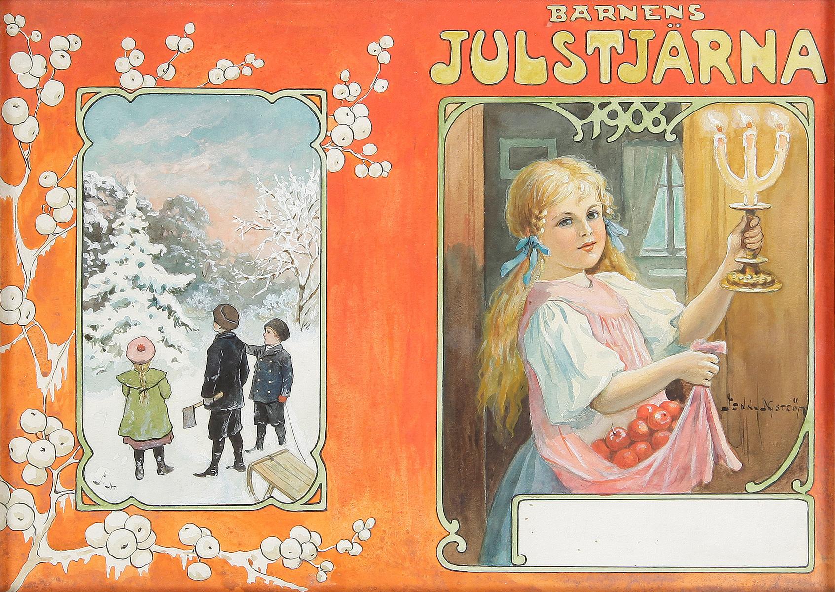 Barnens Julstjärna - Jenny Nyström - 1906
