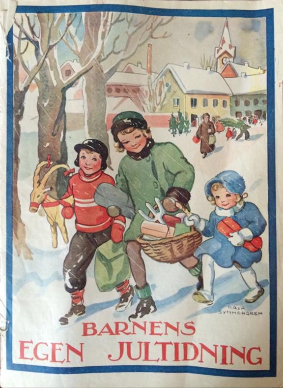 Bernens egen Jultidning - Maja Synnergren - 1936