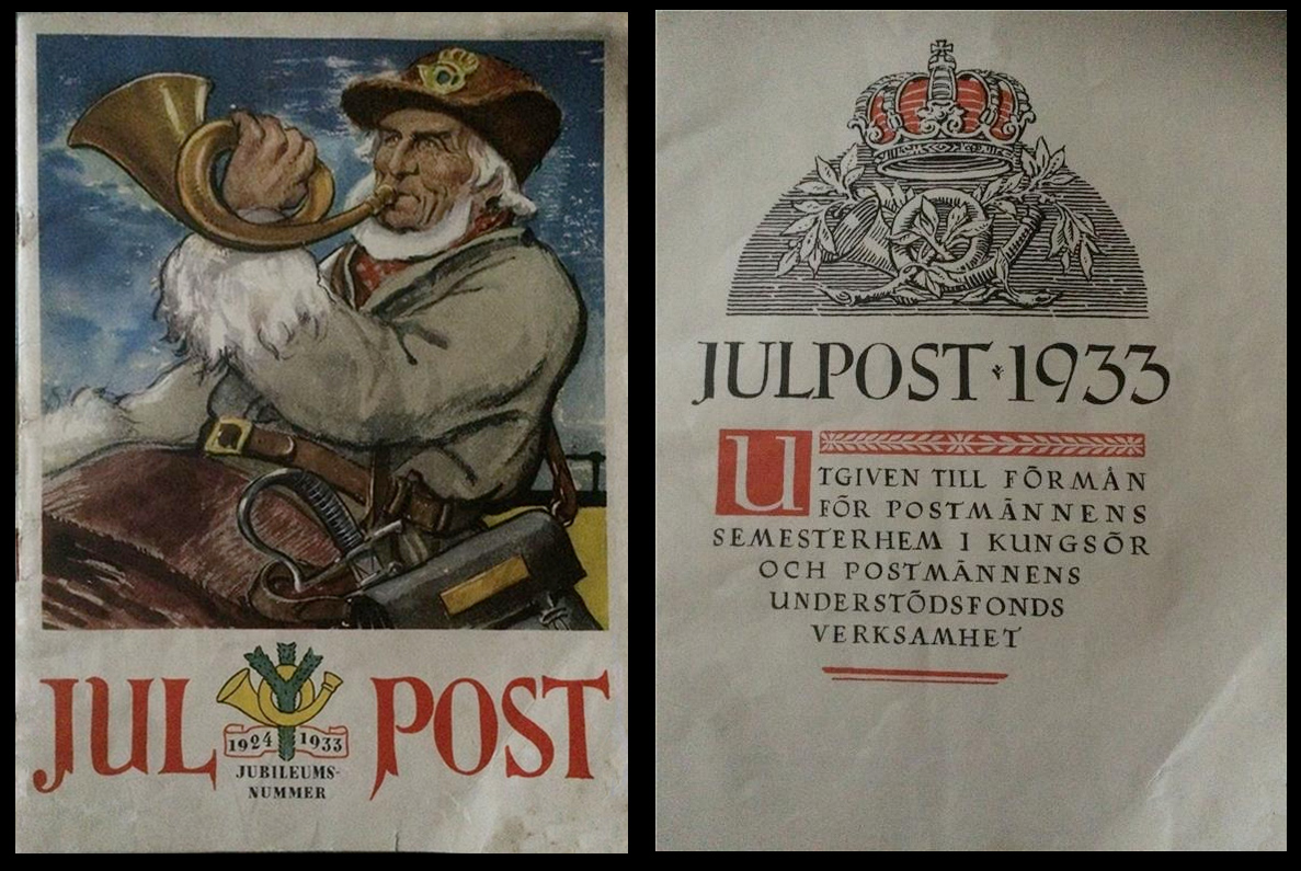 Jul Post - Jubileumsnummer - 1933