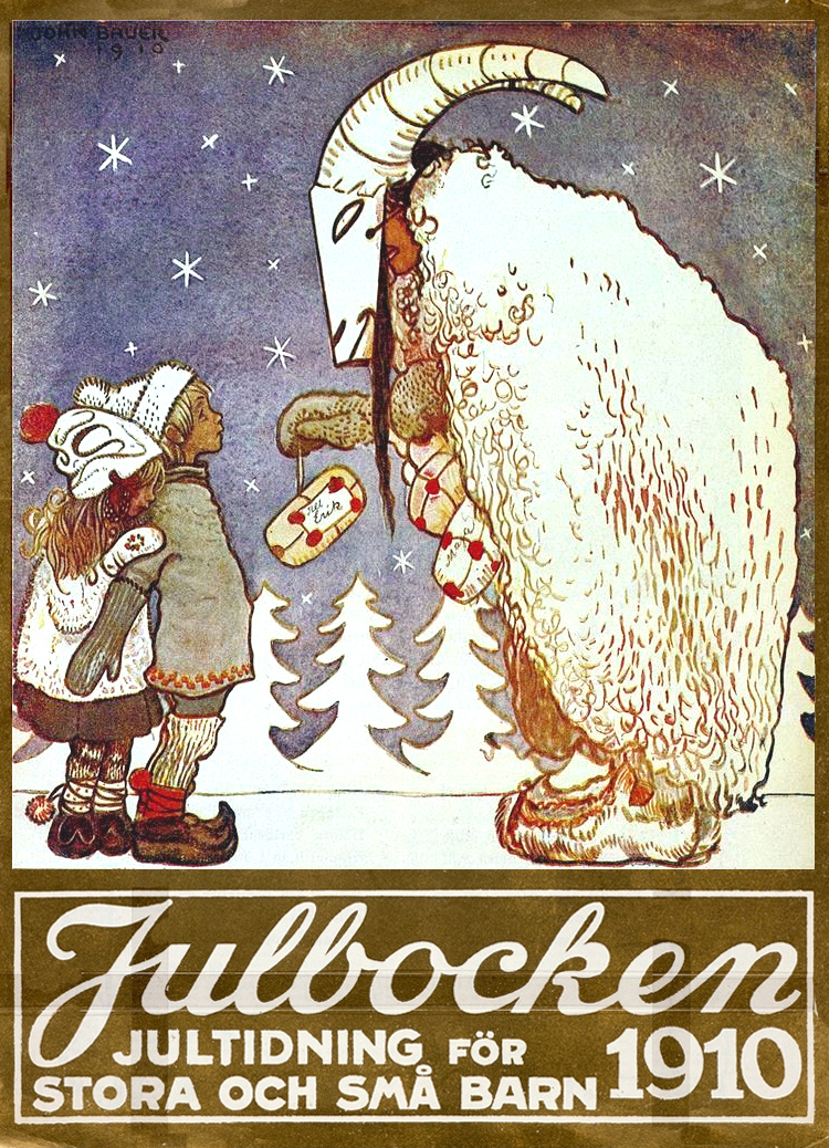 Julbocken - John Bauer - 1910