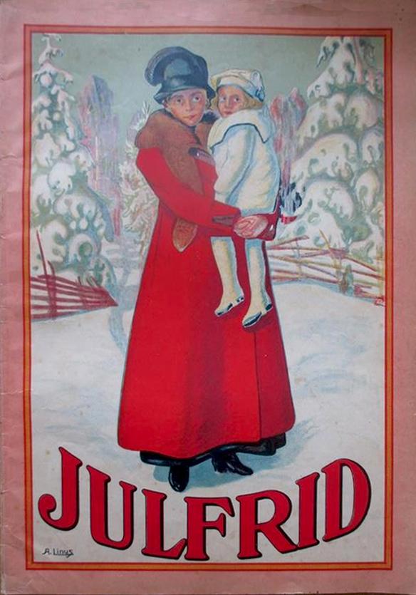 Julfrid - Axel Linus - 1917