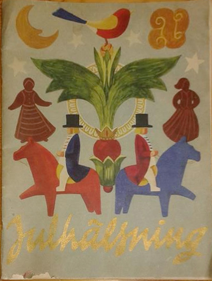 Julhälsning - 1948