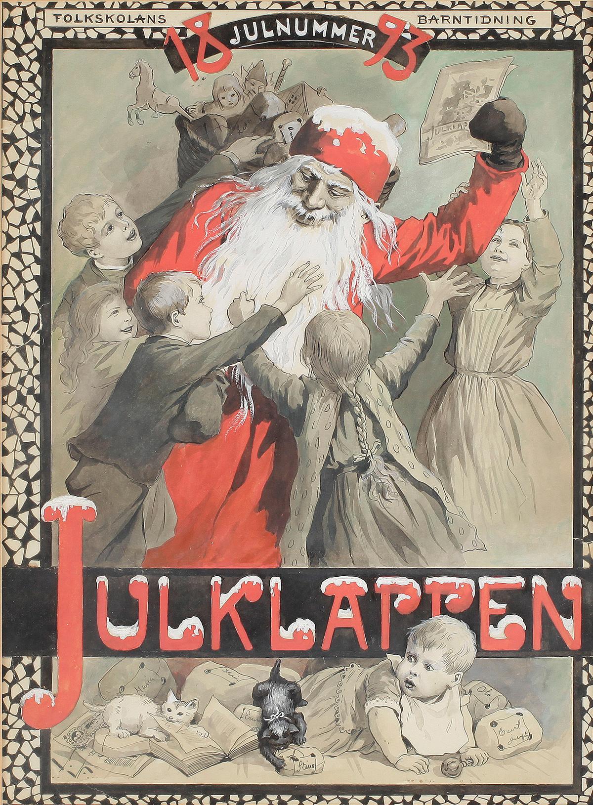 Julklappen - Jenny Nyström - 1893 - första numret