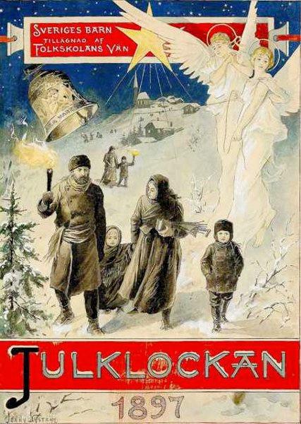 Julklockan - Jenny Nyström - 1897 - Första numret - Il primo numero