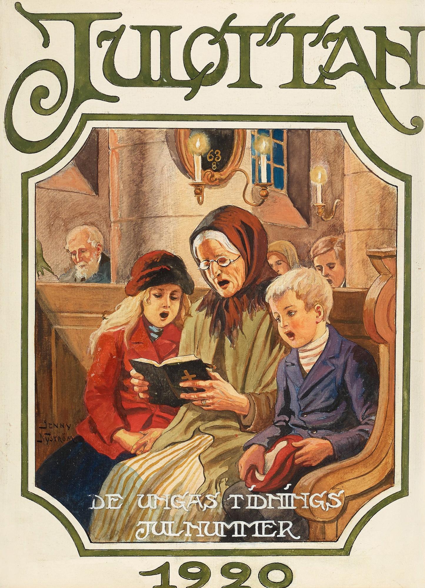 Julottan - Jenny Nystrom - 1920