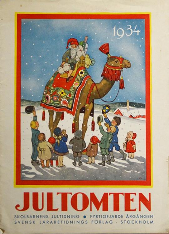 Jultomten - sista numret - 1934 - L'ultimo numero del 1934