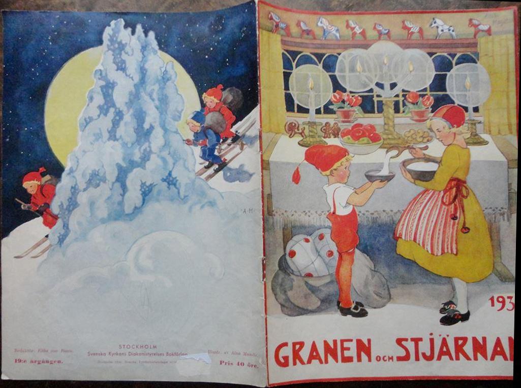 Granen och Stjärnan - Aina Steinberg MasOlle - 1936
