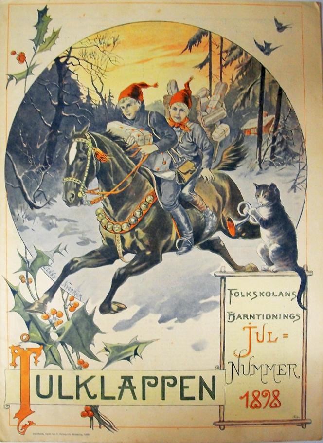 Julklappen - Jenny Nyström - 1898