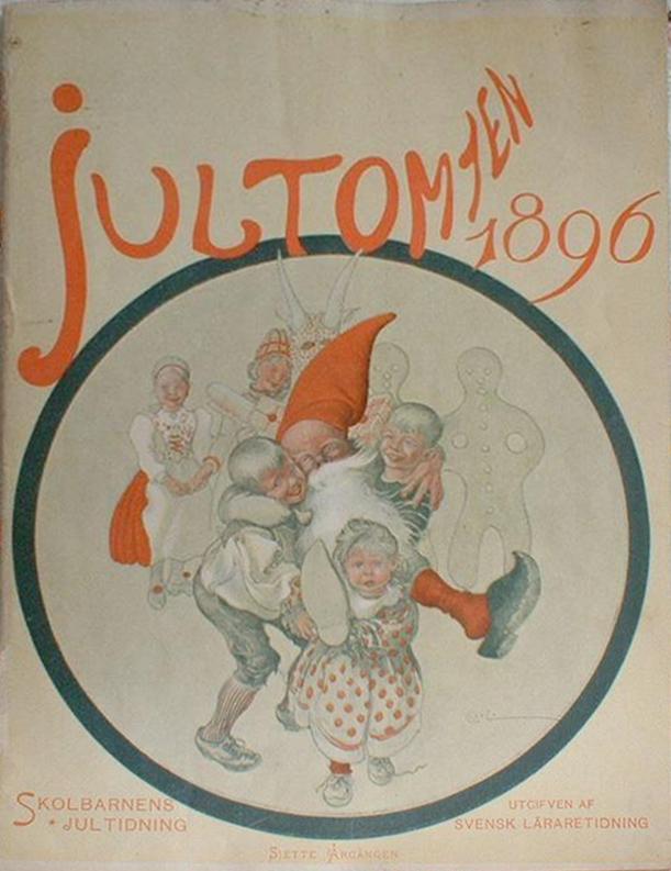 Jultomten - Carl Larsson - 1896