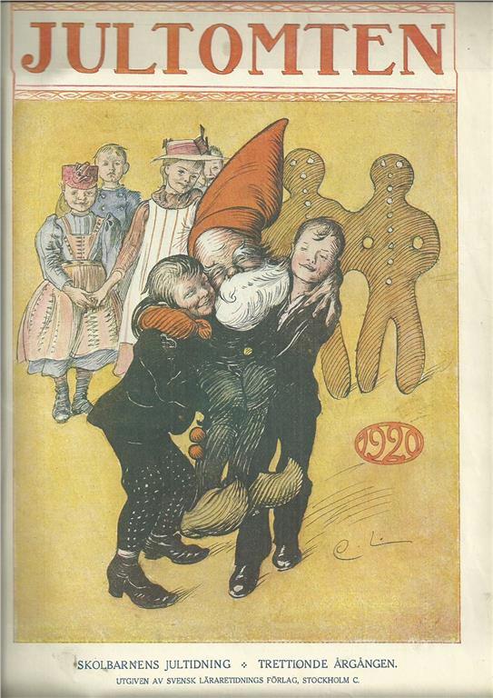 Jultomten - Carl Larsson - 1920