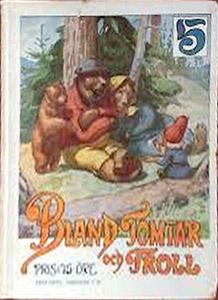 Luois Moe - Bland Tomtar och Troll - femte årgången (1911)