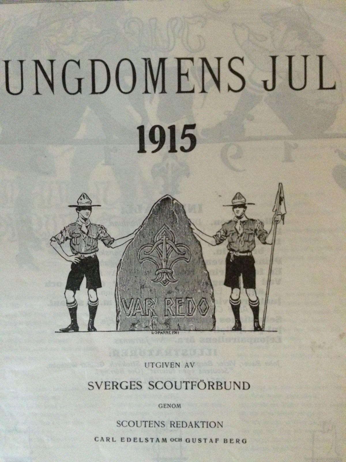 Ungdomens Jul - 1915