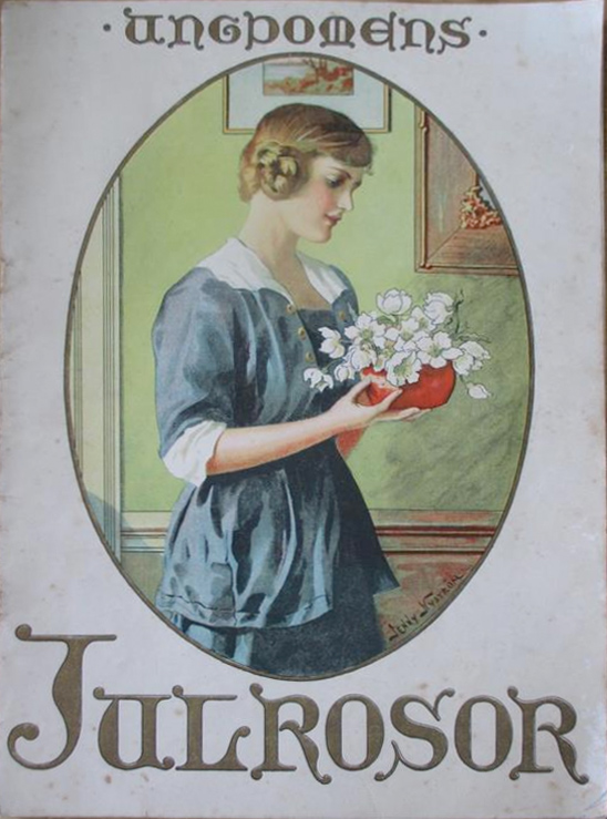 Ungdomens Julrosor - Jenny Nyström - 1919