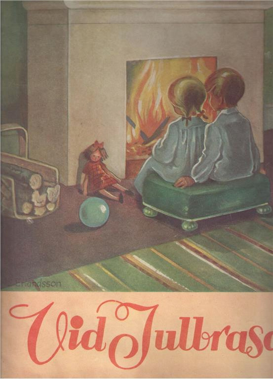 Vid Julbrasan - 1943