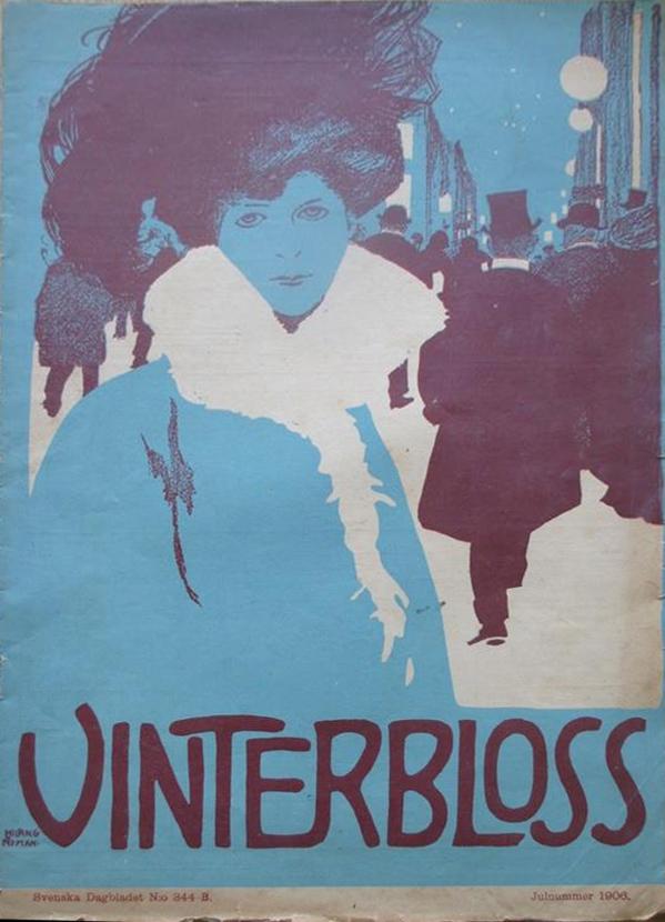 Vinterbloss - Svenska dagbladets julnummer - 1906