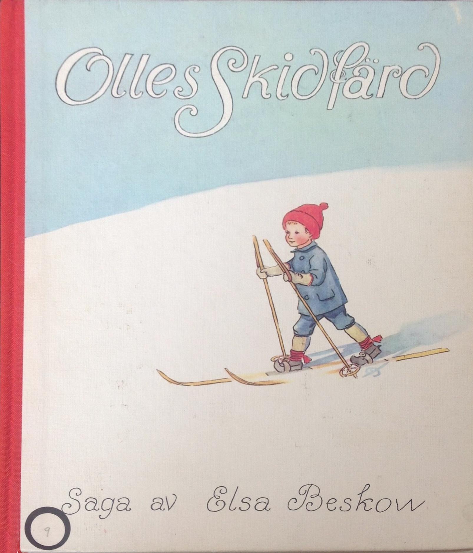Elsa Beskow - Olles Skidfärd